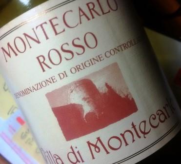 Wandanna Montecarlo Rosso doc, Villa di Montecarlo 2014