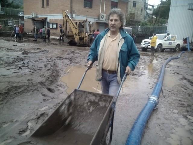 Cantina Solopaca - I danni del maltempo (foto Luigi Cutillo)