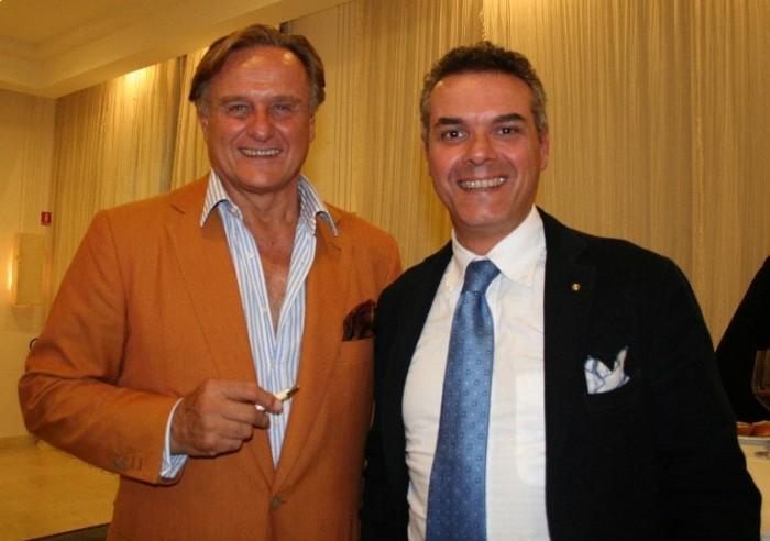 con Jacopo Biondi Santi