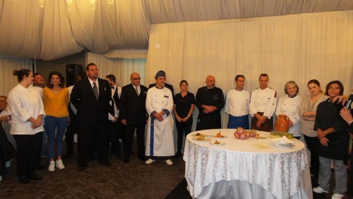 cuochi e chuoche dell'Alleanza Slow Food Vesuvio