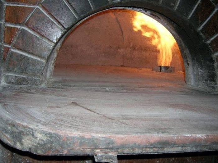 forno a gas per pizze