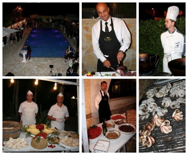 i 350 anni di Leone de Castris, il buffet
