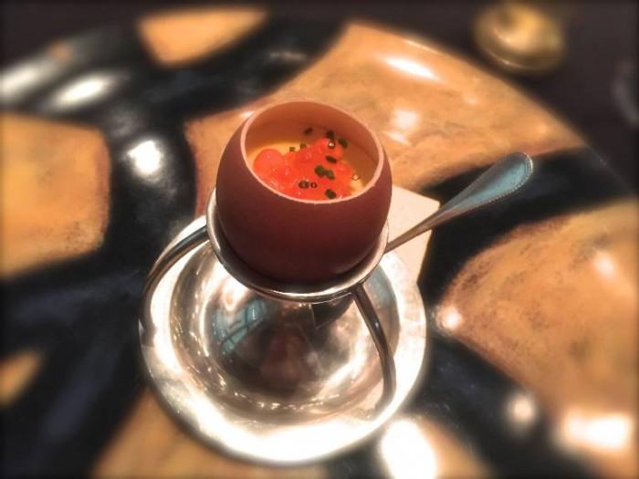 il nuovo ristorante Marchesi, l'Uovo all'Uovo