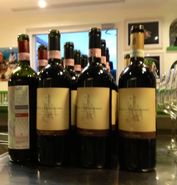 la verticale di  Chianti Classico Badia a Passignano, i campioni in degustazione