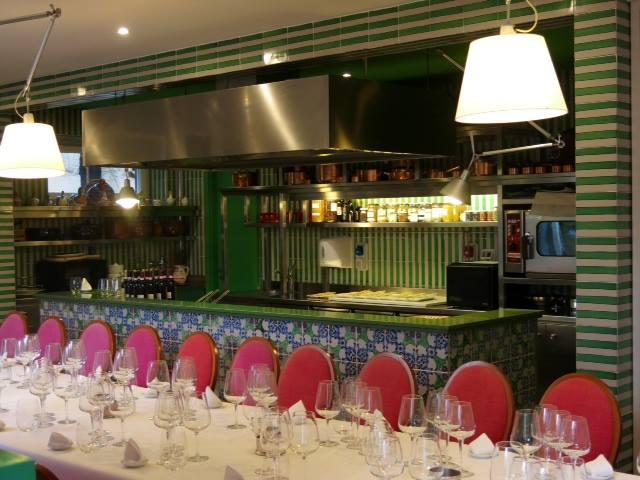 la verticale di  Chianti Classico Badia a Passignano, la sala degustazione