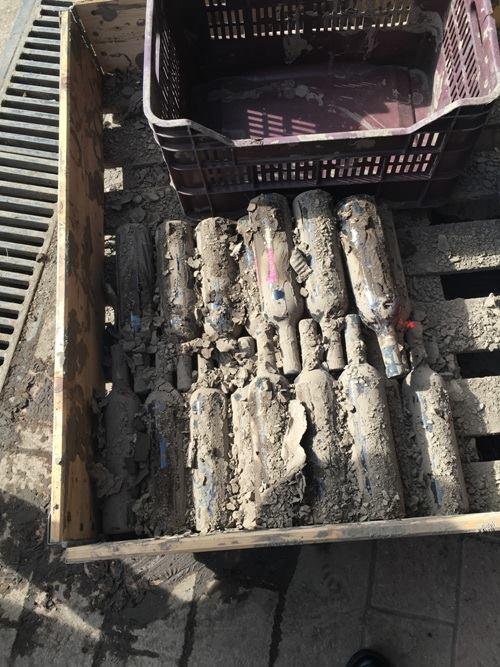 le bottiglie della Cantina di Solopaca salvate dal fango