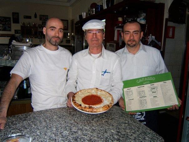 lo staff della Pizzeria Cafasso - foto di Luigi Savino