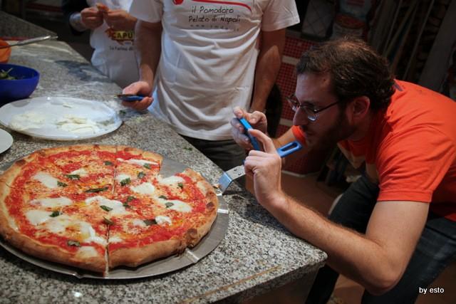 Scott Wiener al Molino Caputo per la Nuova Pizza Americana