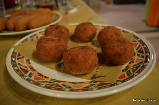 Pizzeria Verace. Le palle di riso