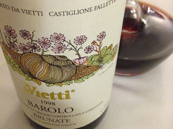 Barolo Brunate 1998 Vietti