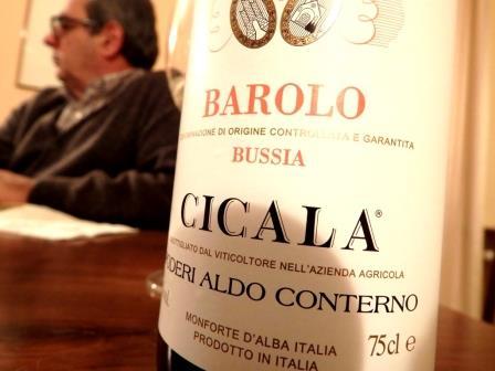 Barolo Bussia Cicala di Aldo Conterno