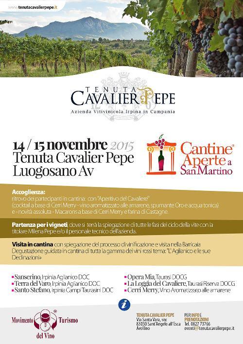 Cantine Aperte a San Martino a Tenuta Cavalier Pepe