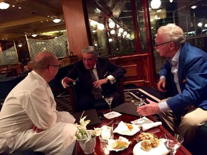 Con Heinz, Massimo e Guido