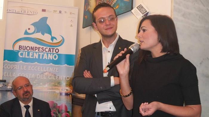 Emanuela Russo con Antonio Puzzi