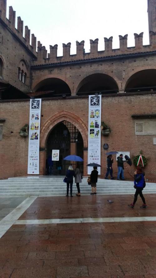 Enologica 2015 a Palazzo Re Enzo a Bologna, l'ingresso