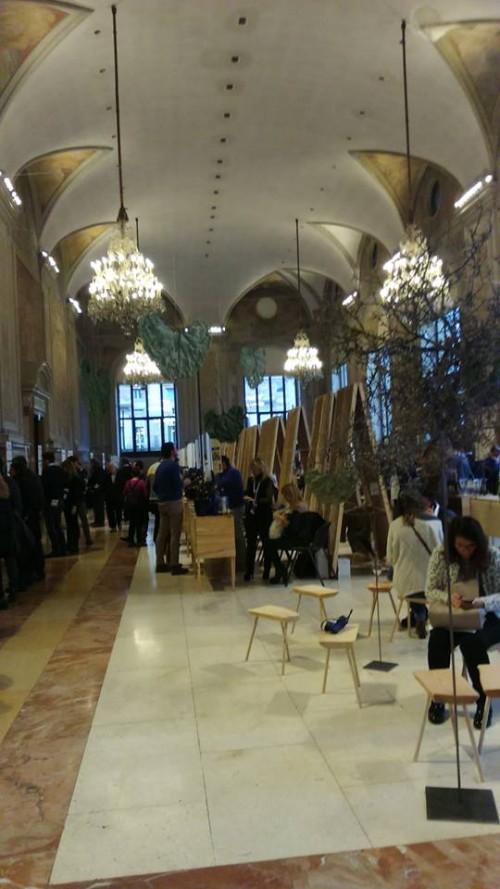 Enologica 2015 a Palazzo Re Enzo a Bologna, l'interno