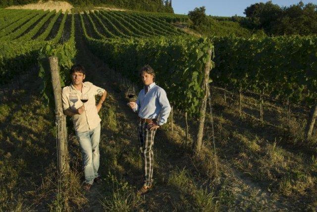 Fattoria Fibbiano, Matteo e Nicola Cantoni