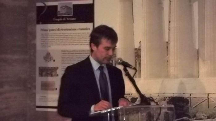 Gabriel Zuchtriegel Direttore del sito archeologico di Paestum