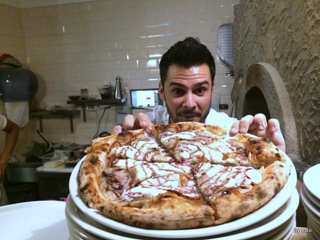 Gazometro 38.  Pier Daniele Seu e Pizza Le Origini