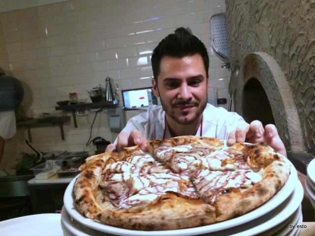 Gazometro 38.  Pier Daniele Seu e la Pizza Le Origini