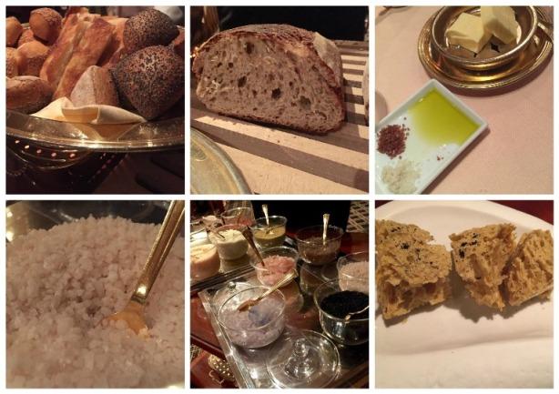 Heinz Beck, i pani, i sali, burro e olio e pane, burro e alici