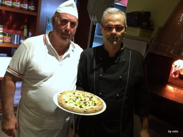 Hungry People Mimmo Molaro Salvatore Esposito. Pizza con baccala