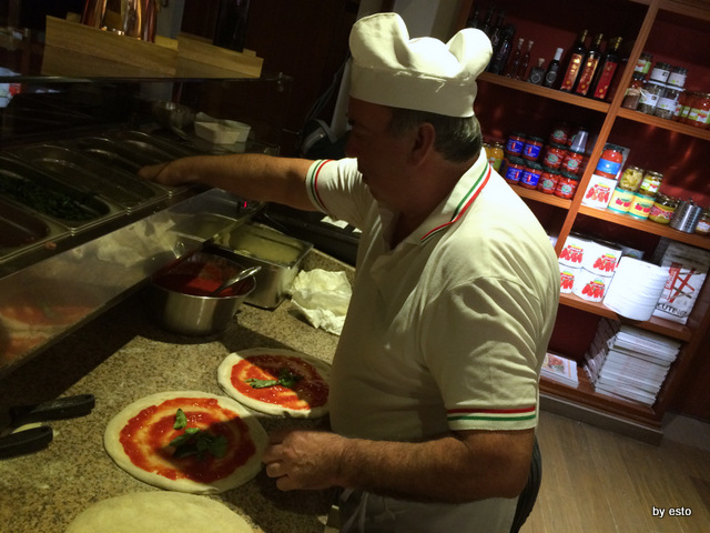 Hungry People. Salvatore Esposito il pizzaiolo