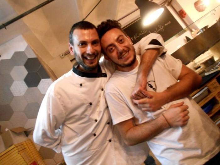 In Cantiere, da sx, Gennaro Petruzziello e Mirko Balzano