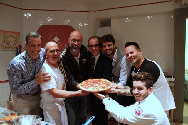 La Nuova Pizza Americana John Arena Giulio Adriani Tony Gemignani al Molino Caputo