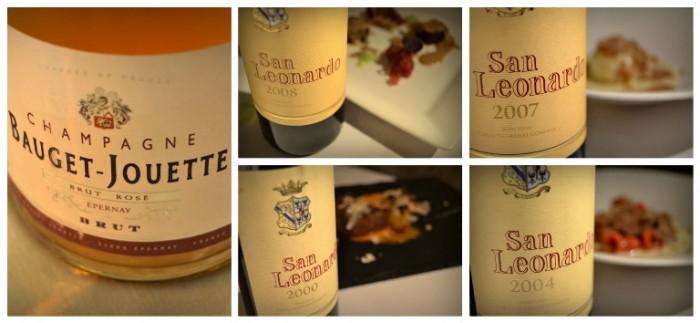 Le Lampare al Fortino, la cena in bianco, i vini