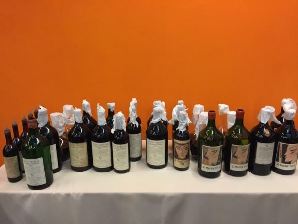 Le Pergole Torte, i vini degustati