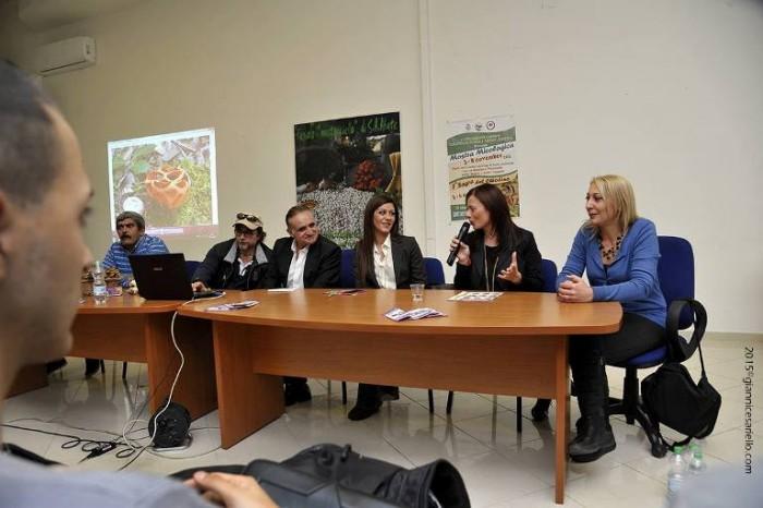Le ricette dell'Agro Nocerino-Sarnese a Sant'Antonio Abate, un momento della presentazione