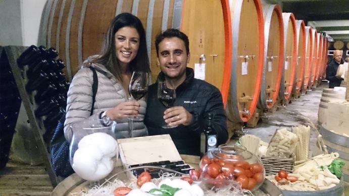 Manuel Lombardi con Daniela Ferolla