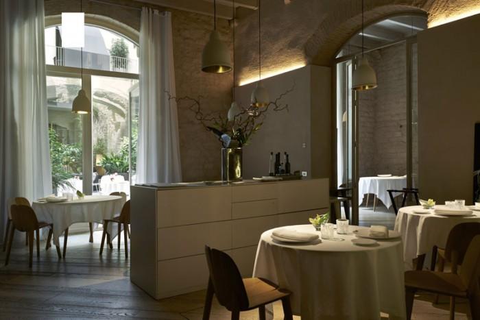 Mercer Hotel di Barcellona, il ristorante