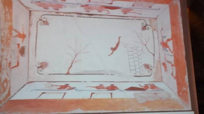 Museo Archeologico di Paestum La Tomba del Tuffatore