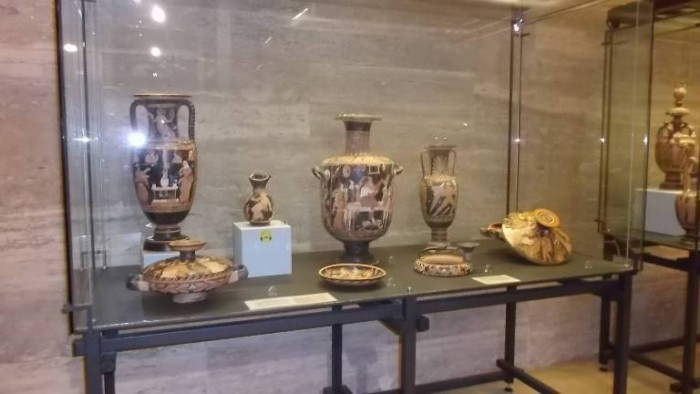 Museo Archeologico di Paestum, reperti antichi