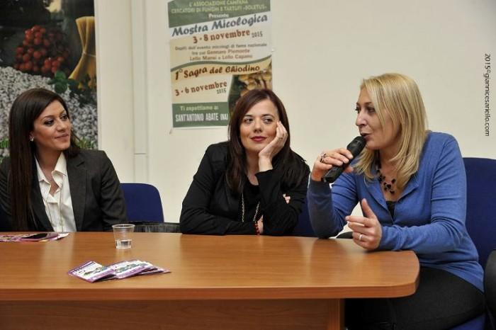 Nunzia Gargano tra Giovanna Mascolo e Alfonsina Longobardi