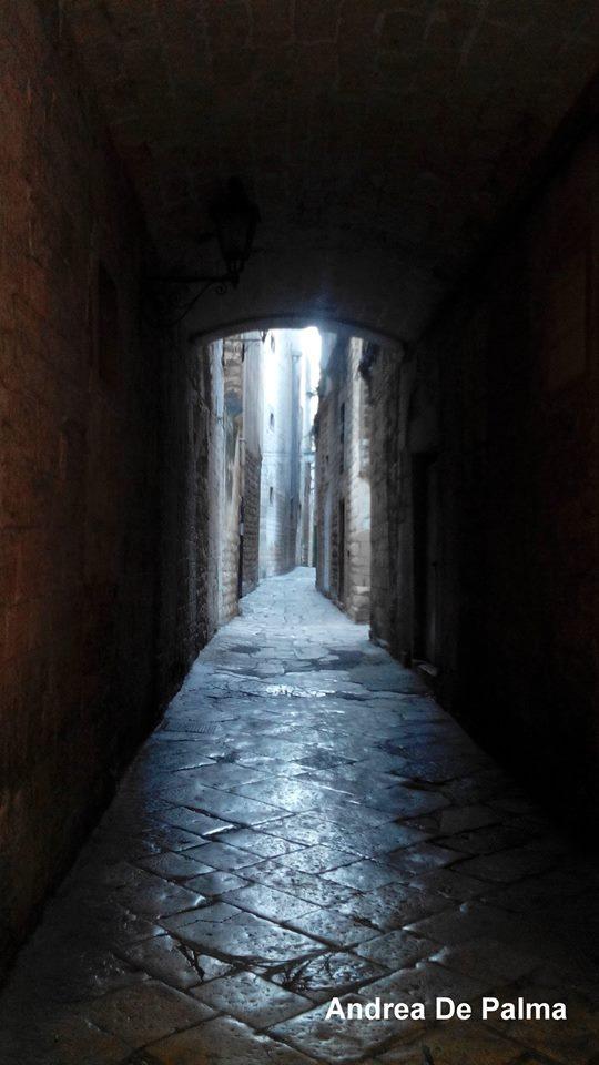 Osteria Il Cerriglio, vicolo del centro storico Bisceglie