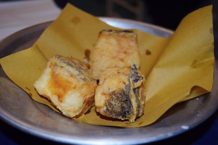Osteria Partenope, baccalà fritto