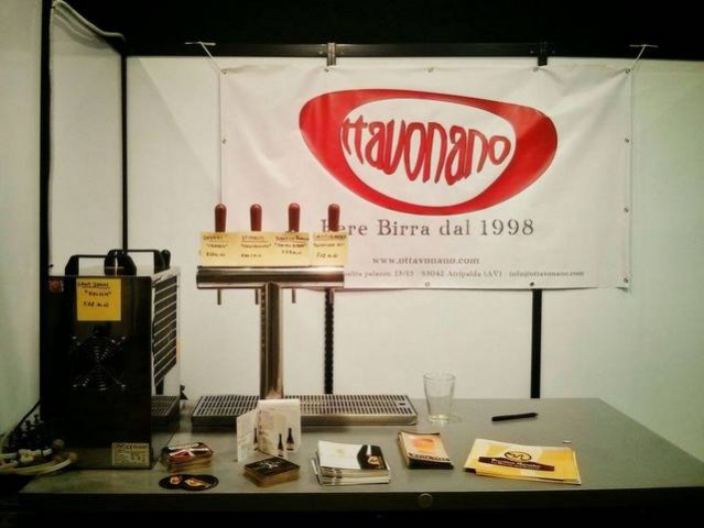 Ottavonano all' IBF Pub Edition 2015. Lo stand.