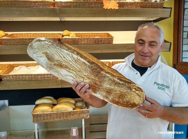 Panificio DOC. Domenico Filosa e il pane 8 giorni