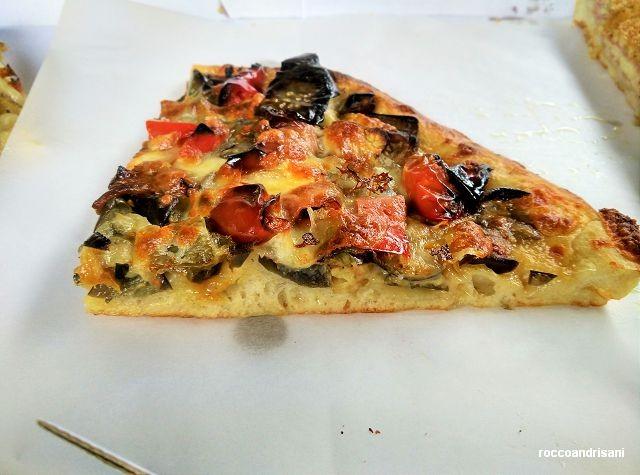 Panificio Michelangelo. Pizza ortolana