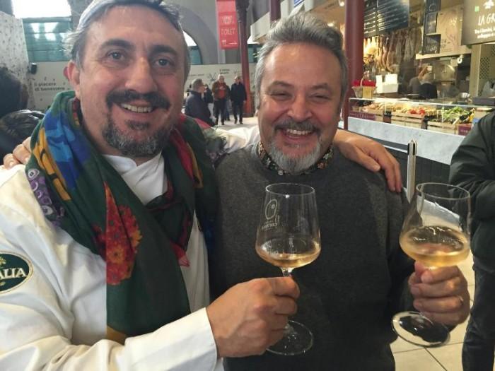 Pasquale Torrente al mercato di Firenze