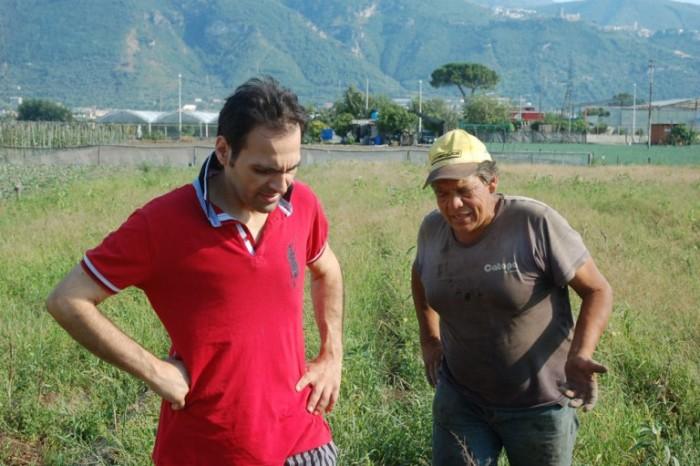 Pietro Parisi con Zi Tore