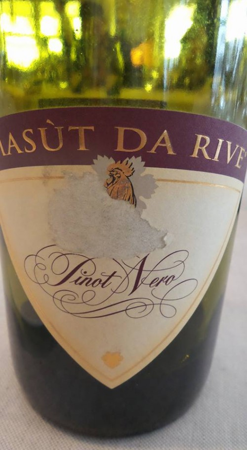 Pinot Nero Masùt da Rive