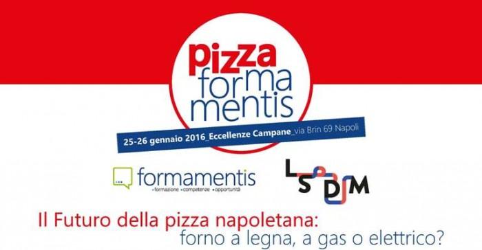 Pizza Forma Mentis a Eccellenze Campane