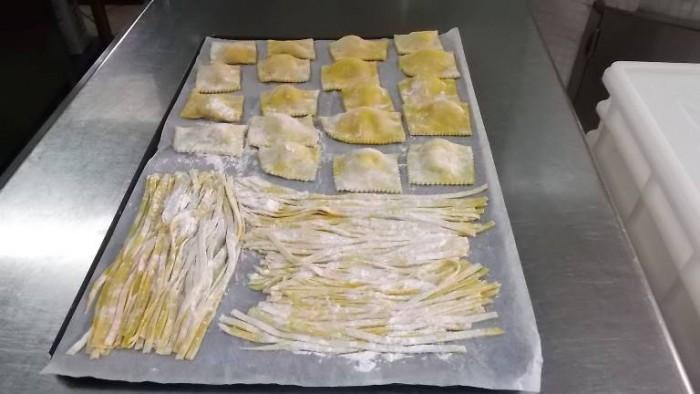 Osteria La Pietra Azzurra, pasta fresca