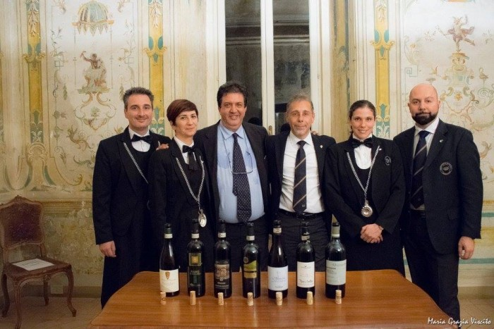 Sette Fiano di Avellino 2013 a Frascati con Ais Castelli Romani