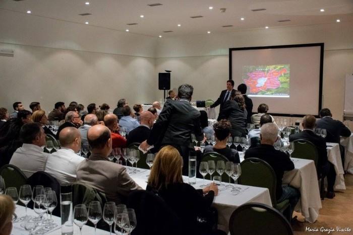 Sette Fiano di Avellino 2013 a Frascati con Ais Castelli Romani, la sala