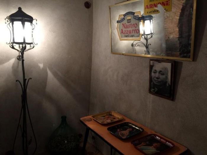 Sorbillo, le nuove sale della sede storica, un angolo